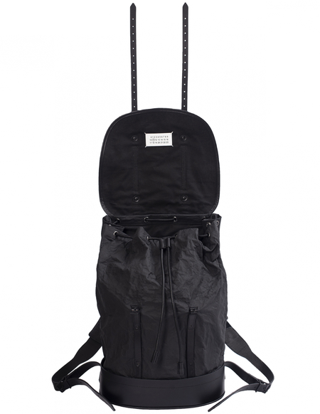 Maison Margiela Canvas Backpack - black