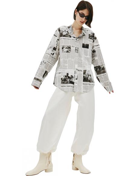 Balenciaga White Cotton Shirt