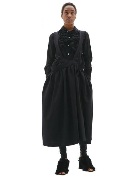 Comme des Garcons CdG Wool Jumper Skirt