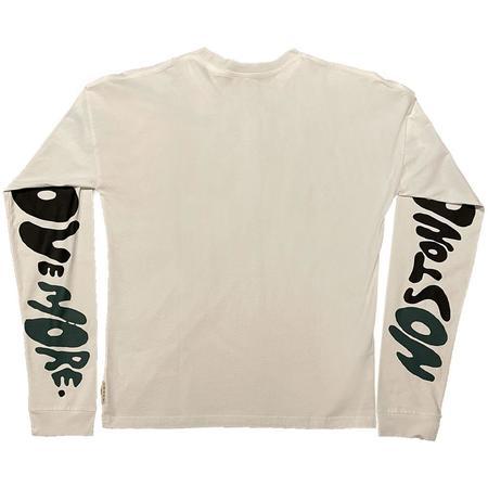 Marni Floral Stripe Print L/S T--Shirt - White