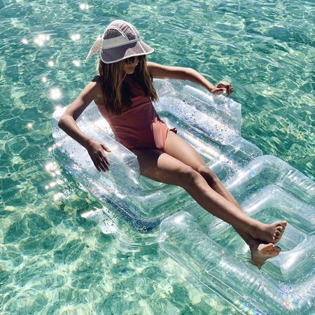 Sunnylife Inflatable Chair - Glitter