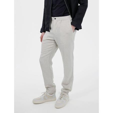 J Lindeberg Sasha Drape Linen Pant - Off White