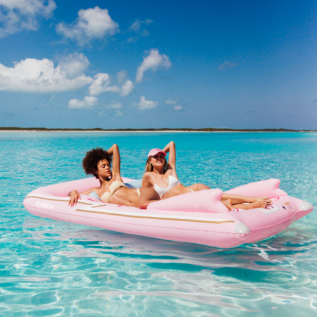 funboy retro convertible float - pink