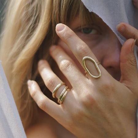 Amanda Hunt Tidal Ring - Silver/Bronze
