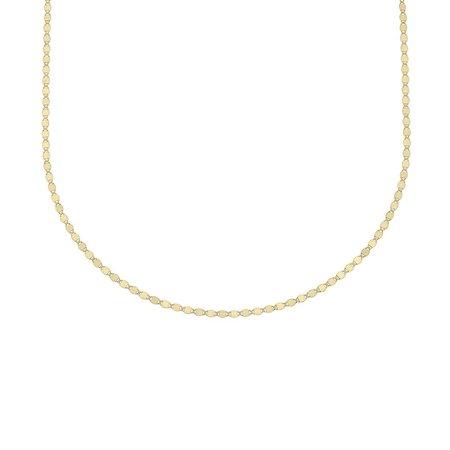 Carrie Hoffman Flat Oval Disc Bracelet - Gold