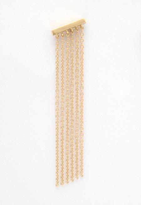 Jack + G Fringe Earring - 14k yellow gold