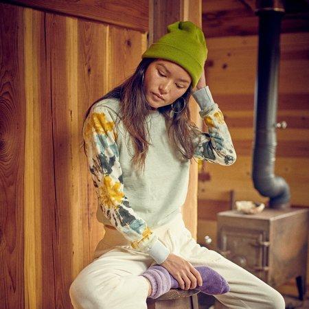 Jungamven Stained Glass Alpine Raglan Sweatshirt