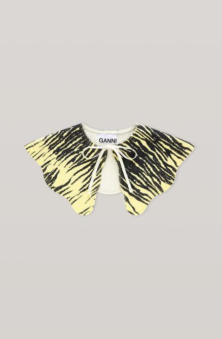 Ganni Denim Collar - Pale Banana