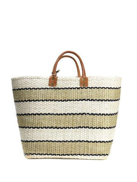 Mar Y Sol CAPRI bag - Natural/Black