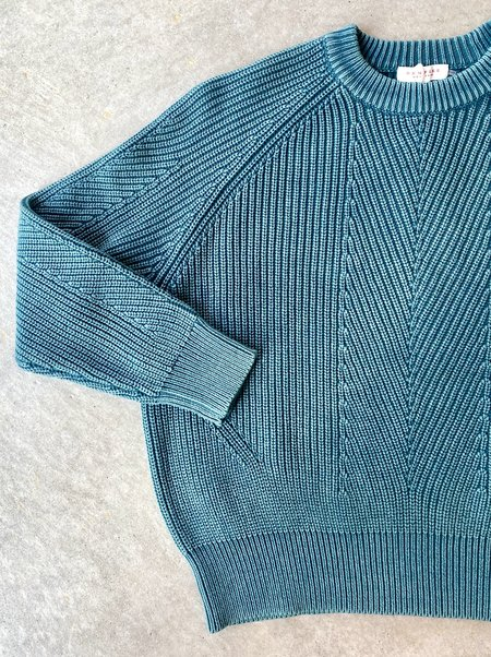 Demy Lee Chelsea Cotton Sweater - Dark Turquoise