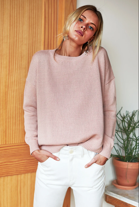 Emerson Fry Carolyn Organic Sweater - Muted Clay