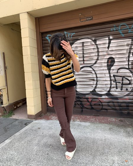[Pre-loved] Lacausa Striped Pants