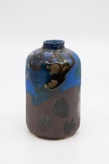 Daren Wilson Dry Bud Vase 3 - Blue/Brown