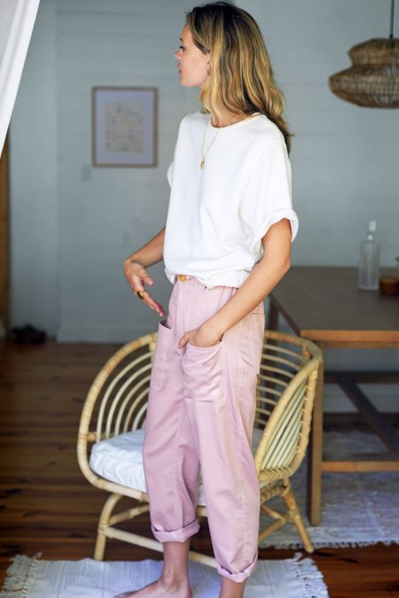 Emerson Fry Orchard Pants - Faded Rose