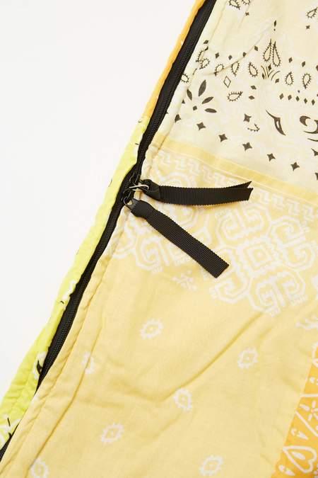 Kapital Gauze Bandana Beach Snufkin Bag - Yellow