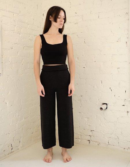 Bare Knitwear Coastal Pants - Graphite