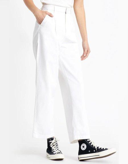 Brixton Victory Trouser Pant - White
