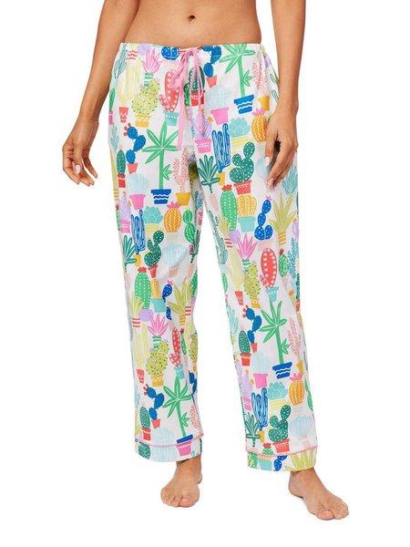 The Cat's Pajamas Cactus Flower Pajama Bottoms