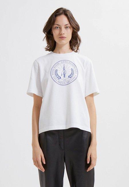 Wood Wood Alma Seal T-Shirt - White