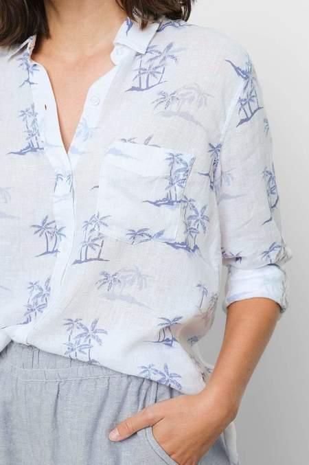 Rails Charli Shirt - Blue Hawaii