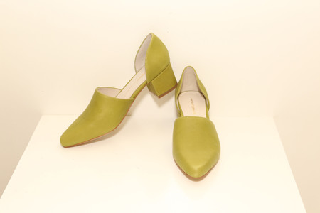 Intentionally Blank PERF Chartreuse Leather