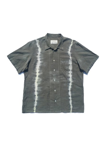 COLORANT X TONY SHIRTMAKERS SUMMER SHIRT - DOUBLE DYED CHARCOAL
