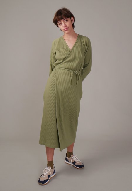 Baserange Cleat Dress With Sleeves - Ero Green