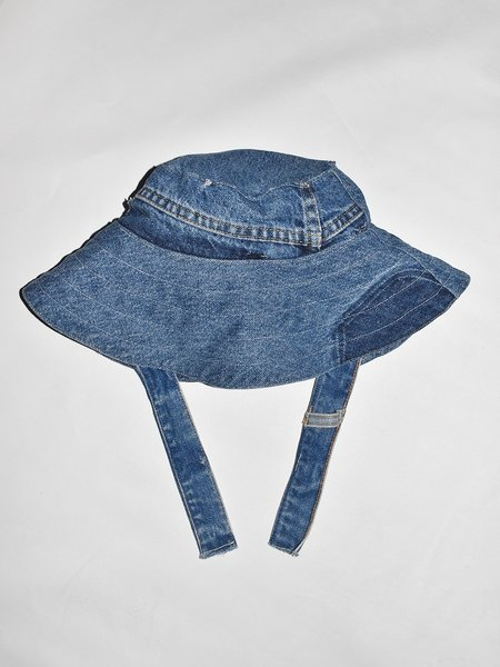 PEOPLE FOOTWEAR Recycled Denim Bucket Hat