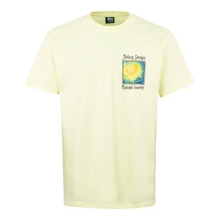 Stussy Midnight Insanity T-Shirt - Lemon