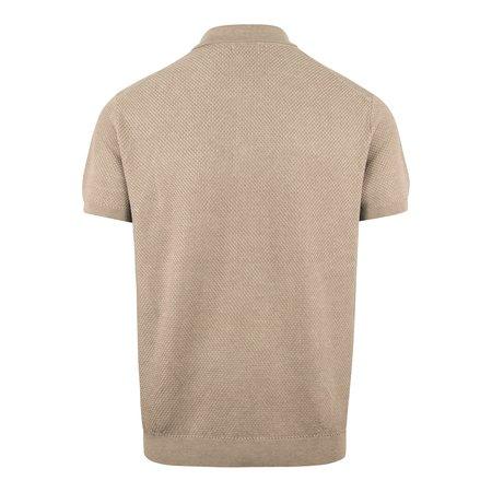 J Lindeberg Ryan Tencel Silk Knit - Polo Grey