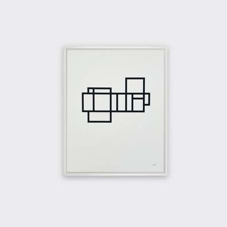 Tom Pigeon Modernist 2 print