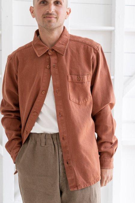 Jungmaven Topanga Shirt - Terracotta
