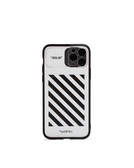 Off-White Diag Print iPhone 11 Pro Case - transparent