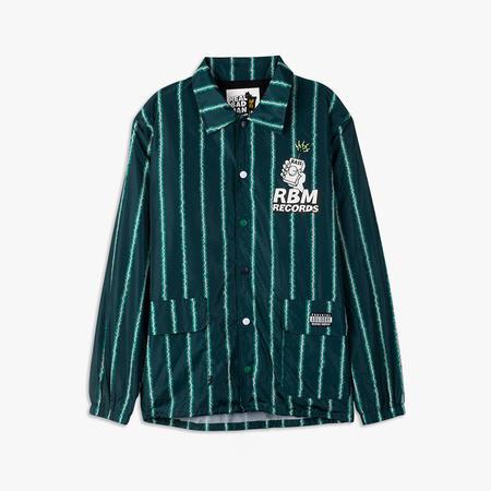 Realbadman RBM Records Coaches Jacket - Watermelon