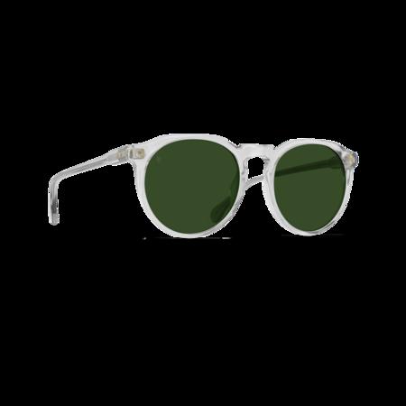 Raen Remmy 49 eyewear - Fog Crystal/Bottle Green