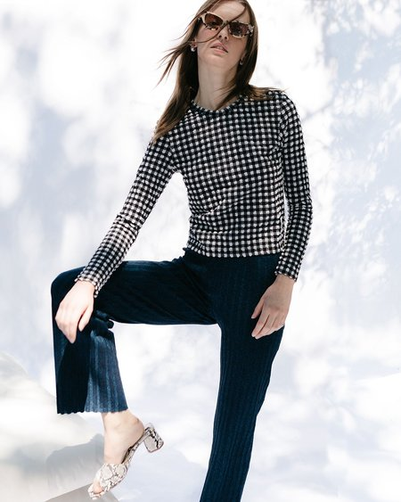 Rachel Comey Satellite Top - Black/White