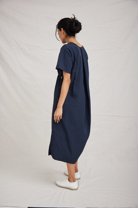 OAD Scone Dress - Navy Blue