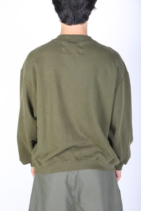 Darryl Brown DB CREWNECK sweater - Olive