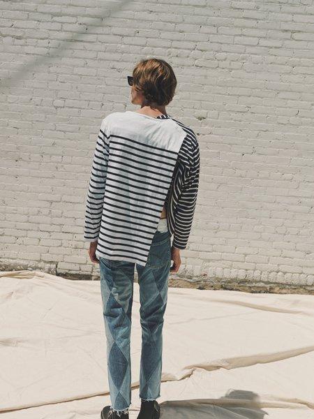 [Pre-Loved] Old Park Patchwork Argyle Jeans