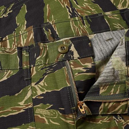 Stan Ray Taper 4 Pocket Fatigue pants - Green Tiger Stripe Ripstop