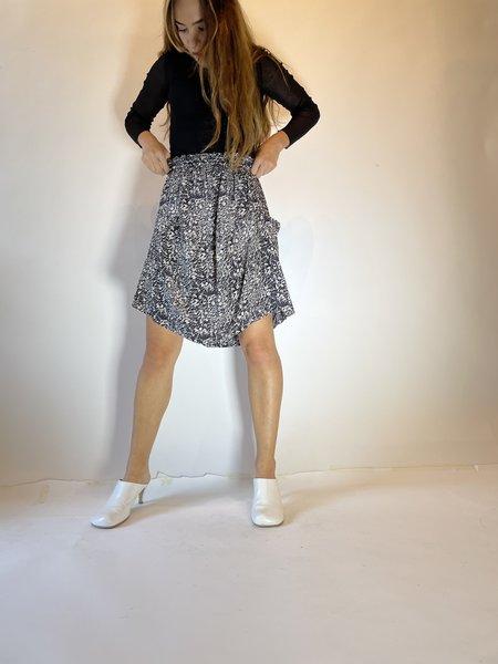 Pre-loved Rachel Comey Printed Mini Skirt - Black/White