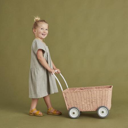 KIDS Olli Ella Strolley Trolley - Rose