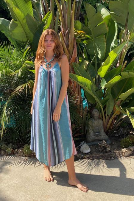 Tysa Sonoma Seaside Serape Jumpsuit - Multicolor