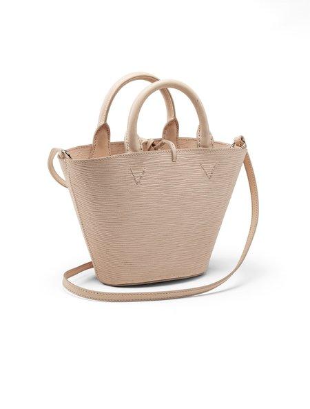 Officina del Poggio Small Cesta Bag - Natural Leather