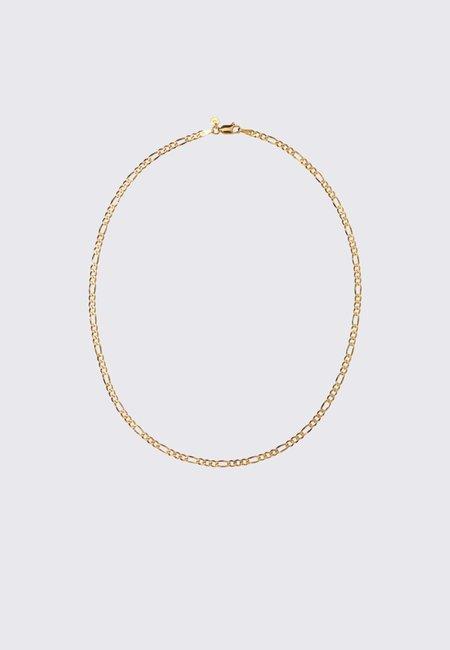 Meadowlark Figaro Fine Chain Necklace - Gold