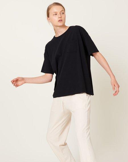 ICHI ANTIQUITES Dry Jersey T-Shirt - Black
