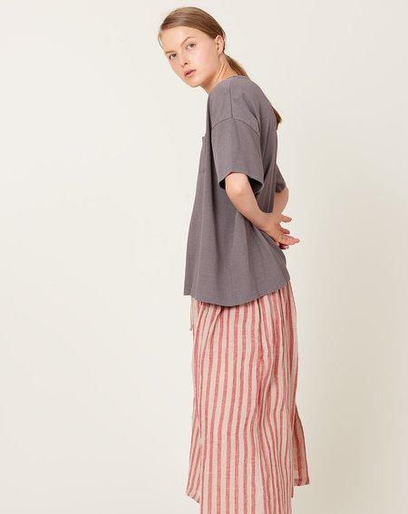ICHI ANTIQUITES Dry Jersey T-Shirt - Grey