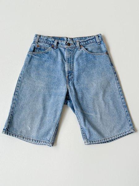 Vintage Levi's 550 Distressed Denim Shorts