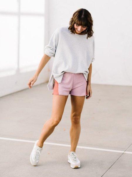 Lacausa Malibu Sweatshirt - Heather Grey