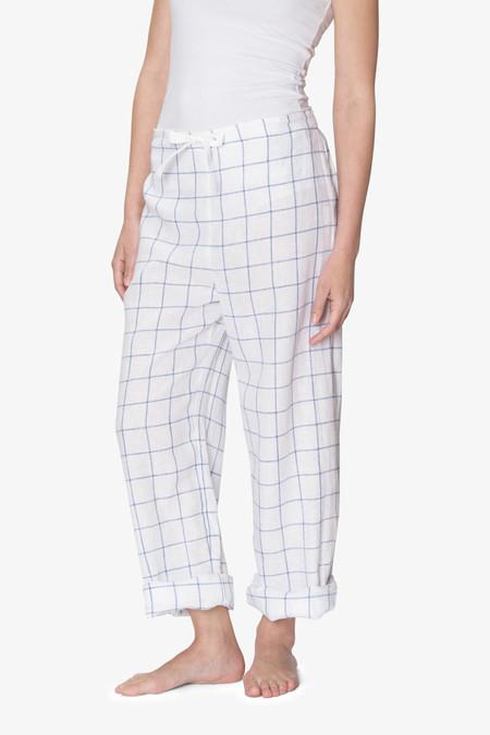 The Sleep Shirt Lounge Pant Blue Looklin Linen
